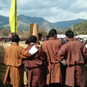 nomad festival - people with local dress