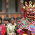 bhutan private tour paro festival